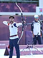 2018-10-17 Archery at 2018 Summer Youth Olympics – Second Round – Section 1 – Korea vs. Paraguay (Martin Rulsch) 10.jpg