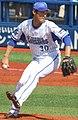 20180325 Satoshi Iizuka, pitcher of the Yokohama DeNA BayStars, at Yokohama Stadium.jpg