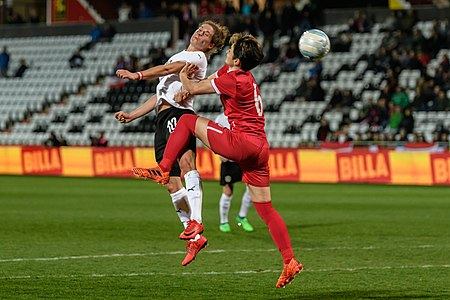 20180405 FIFA Women's World Cup Qualification AUT-SRB Burger Damjanovic 850 6835.jpg