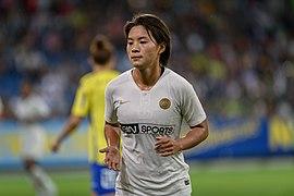 20180912 UEFA Women's Champions League 2019 SKN - PSG Shuang Wang 850 5120.jpg