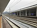 201812 Tracks at Qiandaohu Station.jpg