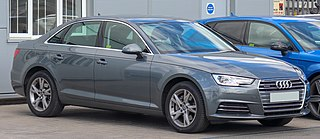 Audi A4 German compact executive car model