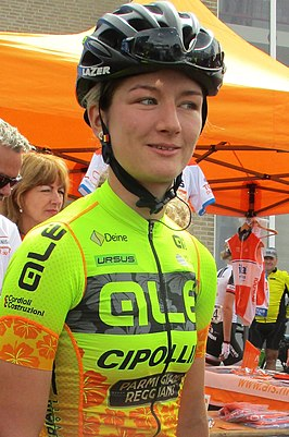 Karlijn Swinkels in de Boels Ladies Tour 2018
