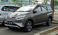 2018 Daihatsu Terios 1.5 R wagon (F800RG; 12-09-2018), South Tangerang.jpg