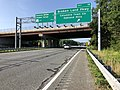 2019-08-07 09 04 03 View south along U.S. Route 29 (Columbia Pike) at Exit 18 (Broken Land Parkway, Columbia Town Center, Oakland Mills) in Columbia, Howard County, Maryland.jpg