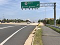 2019-08-19 13 42 16 View north along U.S. Route 29 (Lee Highway) at the exit for Virginia State Route 28 NORTH (Dulles Airport) in Centreville, Fairfax County, Virginia.jpg