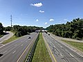 2019-09-03 11 03 39 View south along U.S. Route 29 (Columbia Pike) from the overpass for the ramp from northbound U.S. Route 29 to westbound Broken Land Parkway in Columbia, Howard County, Maryland.jpg