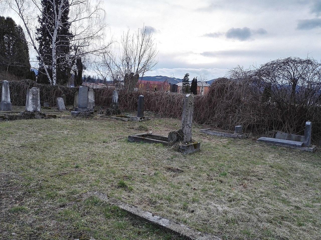 2019 Jewish cemetery Jablunkov.jpg