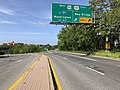 2020-05-21 16 35 02 View north along Maryland State Route 2 (Solomons Island Road) at the interchange with Interstate 595, U.S. Route 50 and U.S. Route 301 in Parole, Anne Arundel County, Maryland.jpg