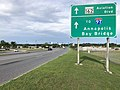 2020-06-20 18 08 42 View north along Maryland State Route 170 (Aviation Boulevard) at the exit for Maryland State Route 162 (Aviation Boulevard, TO Interstate 97, Annapolis, Bay Bridge) in Stony Run, Anne Arundel County, Maryland.jpg
