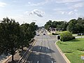 2020-08-26 16 14 58 View north along the northbound lanes of Maryland State Route 202 (Landover Road) from the overpass for Maryland State Route 295 (Baltimore-Washington Parkway) in Landover, Prince George's County, Maryland.jpg
