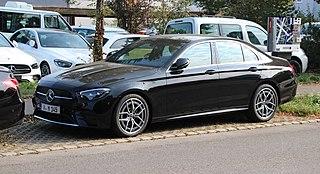 Mercedes-Benz E-Class (W213) Motor vehicle