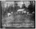 25. NWMP BARN IN 1911-1913 PERIOD - Dalton Trail Post, Mile 40, Haines Highway, Haines, Haines Borough, AK - LOC - hhh.ak0001.photos.001414p.tif