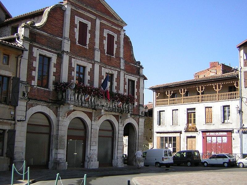 Mairie Cazeres: File:265 Cazères.JPG