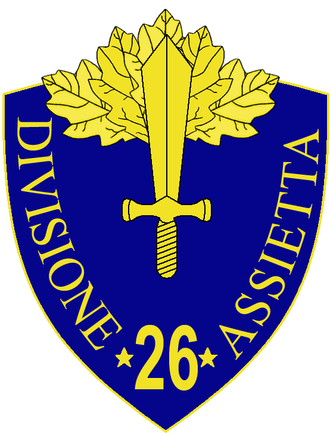 26th Infantry Division Assietta - 26th Infantry Division Assietta Insignia
