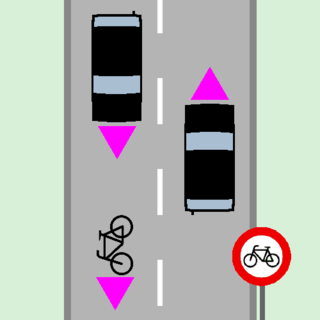 Vehicular cycling Practice of riding bicycles on roads while obeying roadway rules