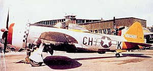 IX Fighter Command - 358th Fighter Group  Republic P-47D-28-RA Thunderbolt 42-29259