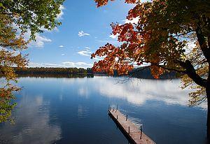 Muskoka Lakes - A typical lake scene in Muskoka Lakes.