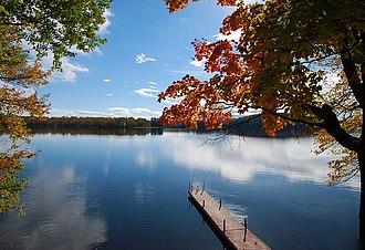 Muskoka Lakes - A typical lake scene in Muskoka Lakes