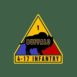 4th Battalion 17th Infantry Regiment - Unofficial insignia of the 4th Battalion, 17th Infantry Regiment.