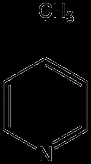 4-Methylpyridine - Image: 4 picoline