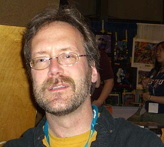 Jim Lawson (comics) - Jim Lawson at the 2008 New York Comic Con.