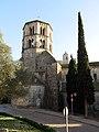 435 Sant Pere de Galligants (Girona), capçalera i campanar.JPG