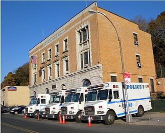 Sedgwick Avenue - Strategic Response Group 2 (SRG 2) stationhouse, NYPD, Sedgwick Avenue