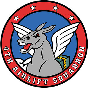 4th Airlift Squadron - Image: 4th Airlift Squadron Emblem