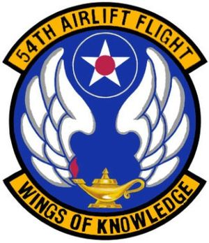 54th Airlift Squadron - Image: 54th Airlift Flight