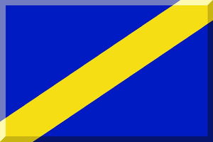 Magyar Kupa (men's water polo) - Image: 600px Blu e Giallo (Diagonale)