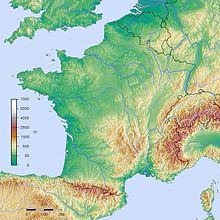 Geography Of France Wikipedia