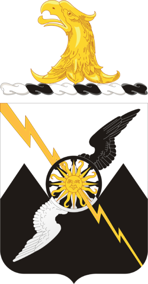61st Air Defense Artillery Regiment - Coat of arms