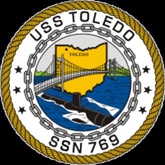 USS Toledo (SSN-769) - Image: 769insig