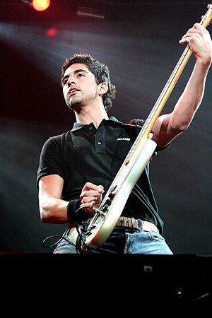 Panda (band) - Ricardo Treviño in 2008