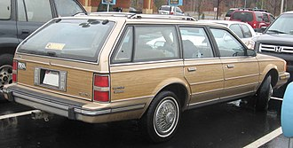 Buick Estate - 1986–88 Buick Century Estate Wagon