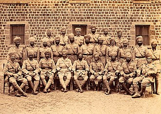 8th Punjab Regiment - Image: 91st Punjabis, Poona, 1920