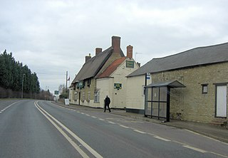 A508 road road in England