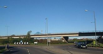 A66 road - Image: A66mids
