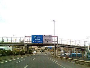 Autovía A-7 - Image: A7 algeciras