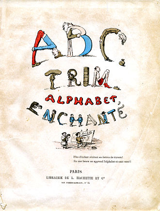 Alphabet book - A French ABC-book printed in 1861