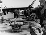 AD-2s of VA-65 are armed on USS Philippine Sea (CV-47) in 1951.jpg