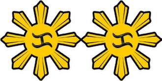 105th Technical & Administrative Services Group (Reserve) - Image: AFP Lieutenant Colonel Rank Insignia