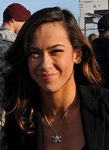 AJ Lee at Fort Bragg in December 2011.