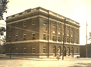 United States Post Office (Opelika, Alabama) - Post Office in 1918