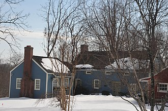National Register of Historic Places listings in Somerset County, New Jersey - Image: ALWARD FARMHOUSE, SOMERSET COUNTY