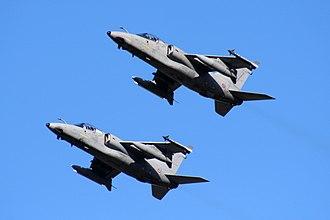 AMX International AMX - A pair of AMXs in flight, 2010