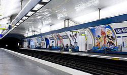 Image illustrative de l'article Alma - Marceau (métro de Paris)