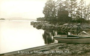 Casco, Maine - Sebago Lake c. 1915