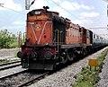 A WDG3A Loco from Guntakal shed with Kagazhnagar Intercity Express.jpg